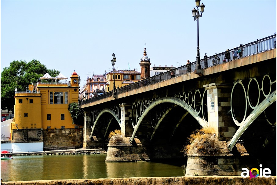 Triana Bridge of Seville